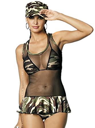 Girl Sexy soldier