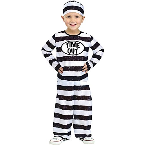 Time Out Prisoner Toddler Costume
