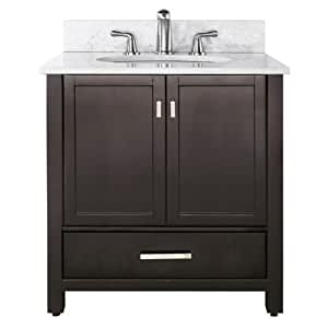 avanity modero vs36 b modero 36 inch vanity combo. Black Bedroom Furniture Sets. Home Design Ideas