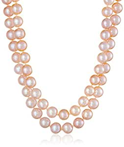 Pink Freshwater Cultured Pearl Necklace