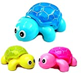 YFG-Electric Crawling Musical Light-up Tortoise(Assorted Colors,Powered by 3AAA) , Blue