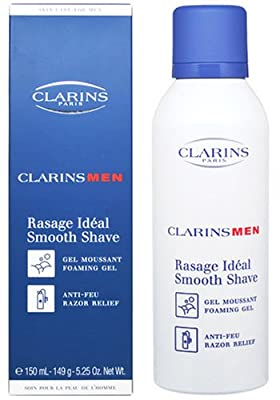Best Cheap Deal for Clarins Smooth Shave Foaming Gel for Men, 5.25 Ounce by Clarins - Free 2 Day Shipping Available