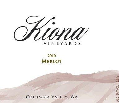 2010 Kiona Vineyards And Winery - Columbia Valley Merlot 750 Ml