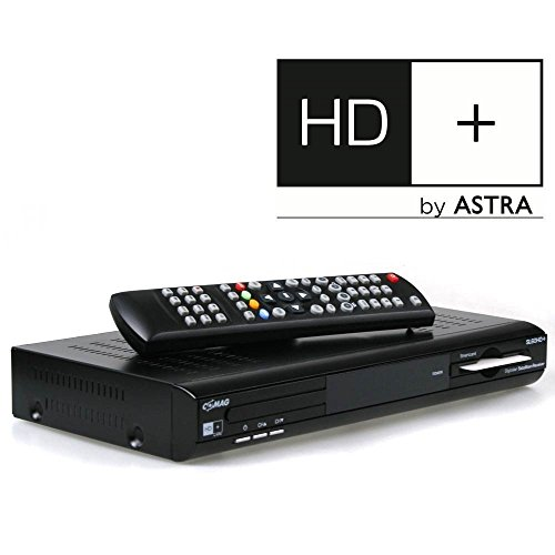 COMAG SL60 HD+ Basic HDTV Satelliten-Receiver (HD+, HDMI, SCART, USB, inkl. HD+ Karte) schwarz