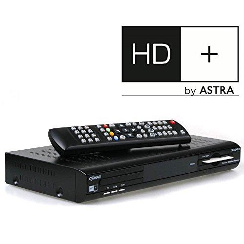 Comag SL60 HD+ Basic HDTV Satelliten-Receiver (HD+, HDMI, SCART, USB, inkl. HD+ Karte für 1 Jahr) schwarz