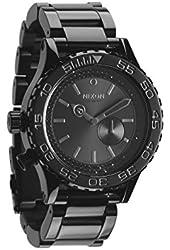 NIXON Men's NXA035001 Uni-Directional Rotating Black Watch