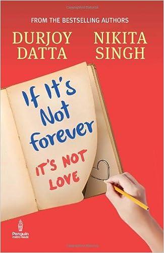 Durjoy datta Books List: If its not Forever