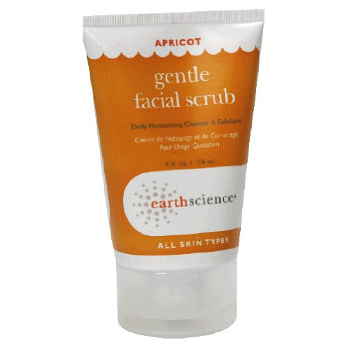Apricot Gentle Facial Scrub Creme 4 Ounces
