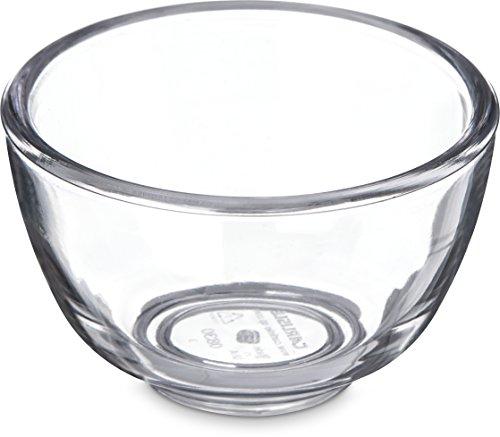 Carlisle 083007 SAN Souffle Cup, 1.1 oz Capacity, Clear (Case of 144)