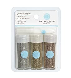 Martha Stewart Crafts Glitter, Desert, 3-Pack