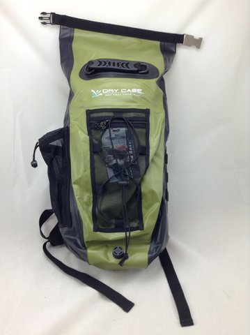 0f00c300286b DryCASE 2015 Basin 20 Liter Waterproof Sport Backpack - BP-20 (Green)