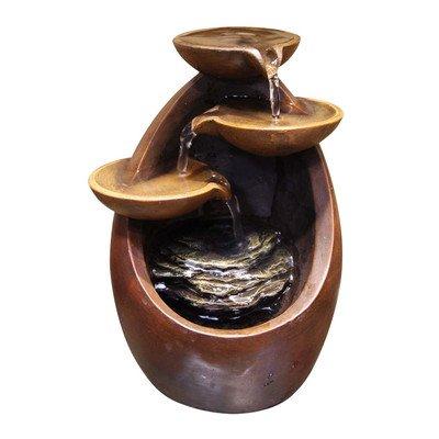 8in Polyresin Tabletop Fountain