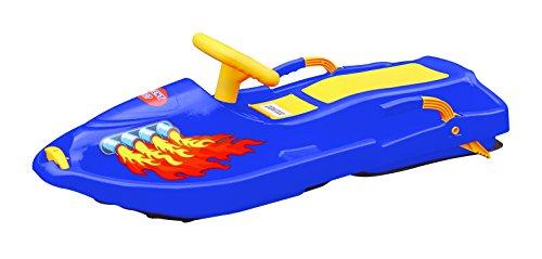 Plastkon-luge--volant-steerable-sledges-snow-boat-41106601-bleu