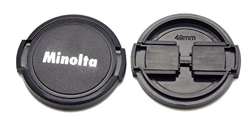 Minolta 49mm Front Lens Cap Minolta MD Rokkor SRT SR XD New (Color: Black)