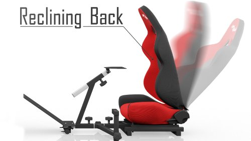 Openwheeler Advanced Racing Seat Driving Simulator Gaming Chair with Gear Shifter Mount [Playstation4]
