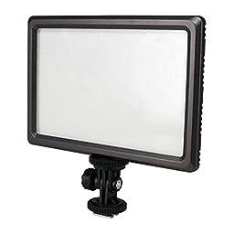 Nanguang Luxpad22 Pro Ultra Thin 112-LED 11W Video Light Pad for Canon Nikon DSLR Camera DV Camcorder