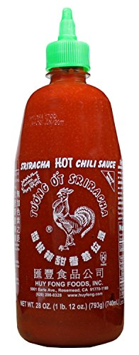 Huy Fong Foods Sriracha HOT Chili Sauce -- 28 oz