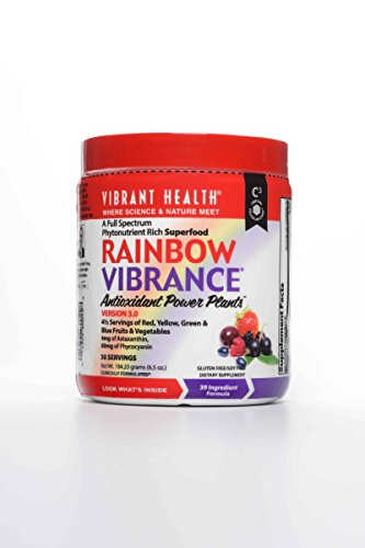 Vibrant Health Rainbow Vibrance Anti Oxidant Powder