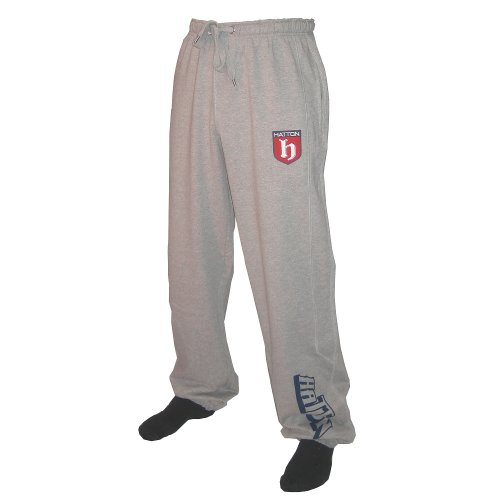 Hatton Boxing Jogging Bottoms Grey Marl Youth
