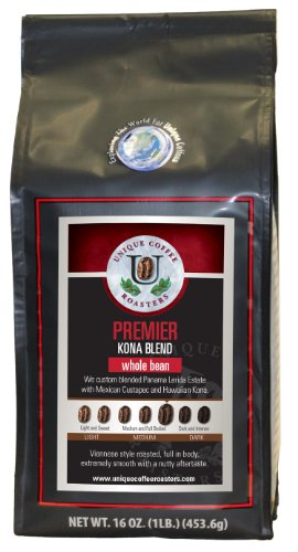 Premier Kona Blend - Unique Coffee Roasters 2Lb Pack
