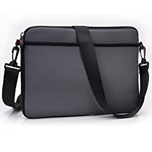 Charcoal Premium Neoprene Tablet Bag Universal Fit For Lava Xolo Play Tab 7.0 Tablet available at Amazon for Rs.4899