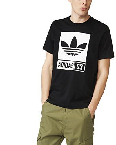 ADIDAS Tshirt Str Grp Tee / Black BLACK