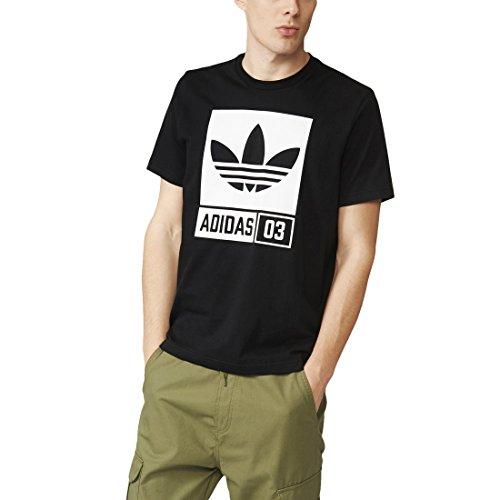 Adidas Str Grp Tee Maglia da Uomo, Nero, XL