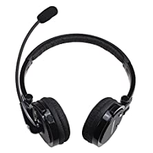 buy Jahoo 2 In 1 Stereo Handsfree Headset Boom Mic Noise Canceling Wireless Bluetooth Headphone For Cellphones Iphone 4S Ipad Pc Ps3 Skype