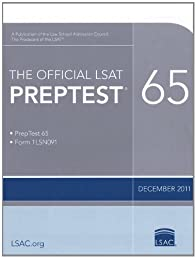 The Official PrepTest 65 (Official LSAT PrepTest)