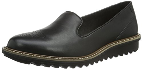 ECCO Touch Flatform Mocassini, Donna, Nero(Black 1001), 37 EU