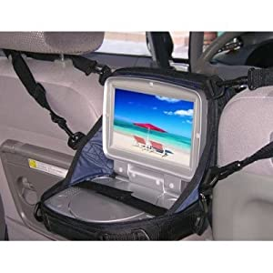 Dvd player case for car