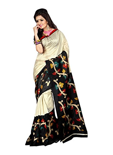 Miraan Printed Art Silk saree for women