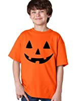 JACK O' LANTERN PUMPKIN Youth T-shirt / Easy Halloween Costume Fun Tee