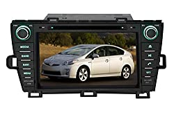 See Pumpkin 8 Inch For Toyota Prius 2009-2013 Car DVD Player GPS/BT/USB/SD/FM/AM Radio Stereo Navigation Details