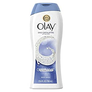 Olay Daily Exfoliating Body Wash with Sea Salts 23.6 oz (Pack of 3)
