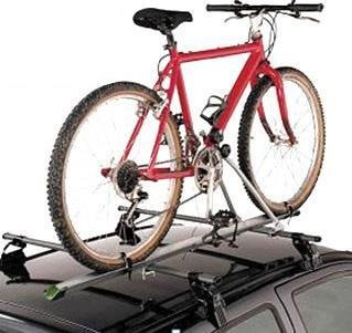 Aluminum Upright Car Roof Mounted Bike Bicycle Rack Carrier Light Weight