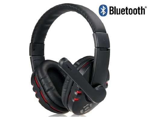 Cool Nice V8 Stereo Bluetooth Wireless Headphones With Microphone (Black)