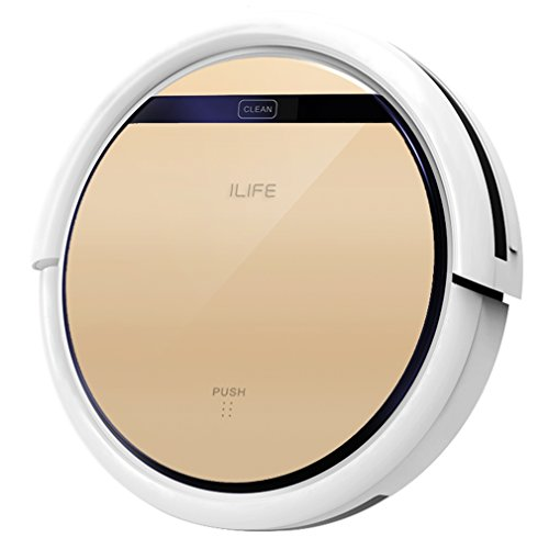 ILIFE V5s Robot Vacuum Cleaner with Water Tank Mopping,Gold (Roomba Mop compare prices)