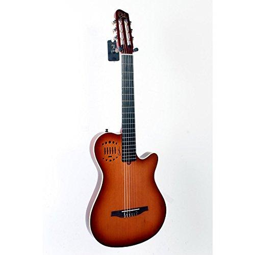 Godin Multiac Grand Concert Duet Ambiance Nylon String Acoustic-Electric Guitar Lightburst High-Gloss 888365221342
