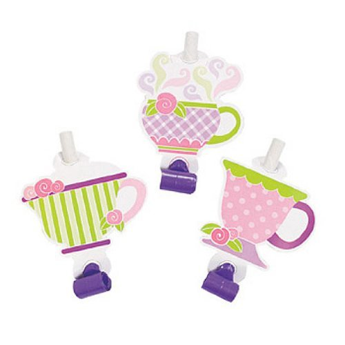 Paper Tea Party Blowouts (1 dz)