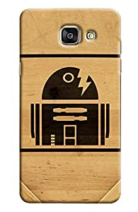Blue Throat Home Made Of Cutting Printed Designer Back Cover For Samsung Galaxy A7 2016