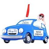 New Driver Boy Ornament