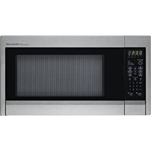 Sharp Carousel R-431ZS 1.3 Cubic Feet 1000-watt Countertop Microwave Oven, Stainless Steel at Sears.com