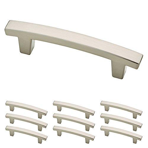 Franklin Brass P29519K-SN-B Satin Nickel 3-Inch Pierce Kitchen or Furniture Cabinet Hardware Drawer Handle Pull, 10 pack (Drawer Cabinet Pulls compare prices)