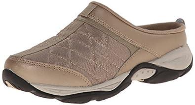 Easy Spirit Women's Eztime Walking Shoe, Dark Gold, 6 M US