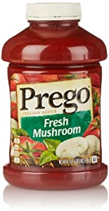 Prego Fresh Mushroom Pasta Sauce, 67 Oz