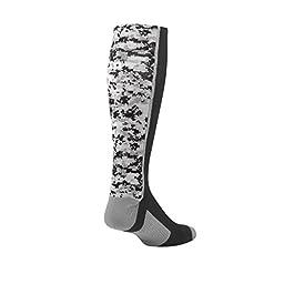 TCK Digital Camo OTC Socks (Black, Large)