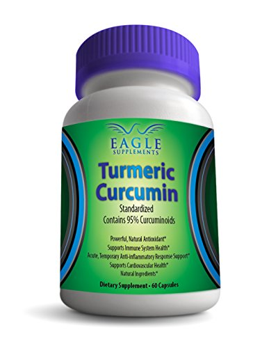 Turmeric Curcumin Root Extract - 500Mg (1000Mg In 2 Capsules) - Proven Antioxidant Supplement To Reduce Arthritis Symptoms And Relieve Joint Pain! Standardized Natural Anti Inflammatory - Amazing Benefits To Immune System - 100% Guaranteed