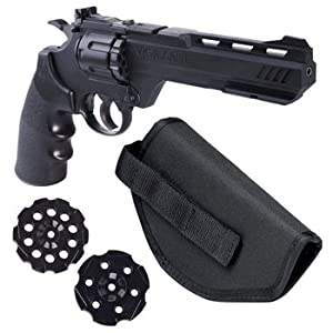 Crosman Vigilante 357 Co2 Air Pistol Kit with Free holster and 3- pack of magazines!