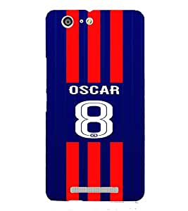 PRINTVISA Football Oscar Case Cover for Gionee Marathon M5